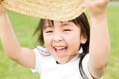紫外線防止は子どもたちにこそ必要です。のイメージ